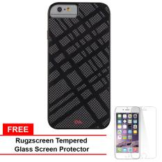 Casemate Carbon Fusion Case for iPhone 6 (Black) With Free RugZscreen  Tempered Glass Screen a6f7e7df69