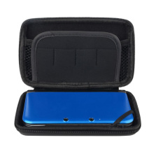 CHEER New Cool Black EVA Skin Carry Hard Case Bag Pouch For Nintendo 3DS LL -