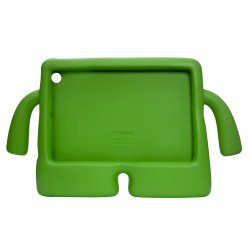 Child-friendly Shockproof Case for iPad Mini (Lime)