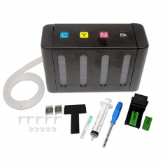 Diy Ciss Tool Kit/suction Tool With 4 Colors By Save More Ink Refill Station..
