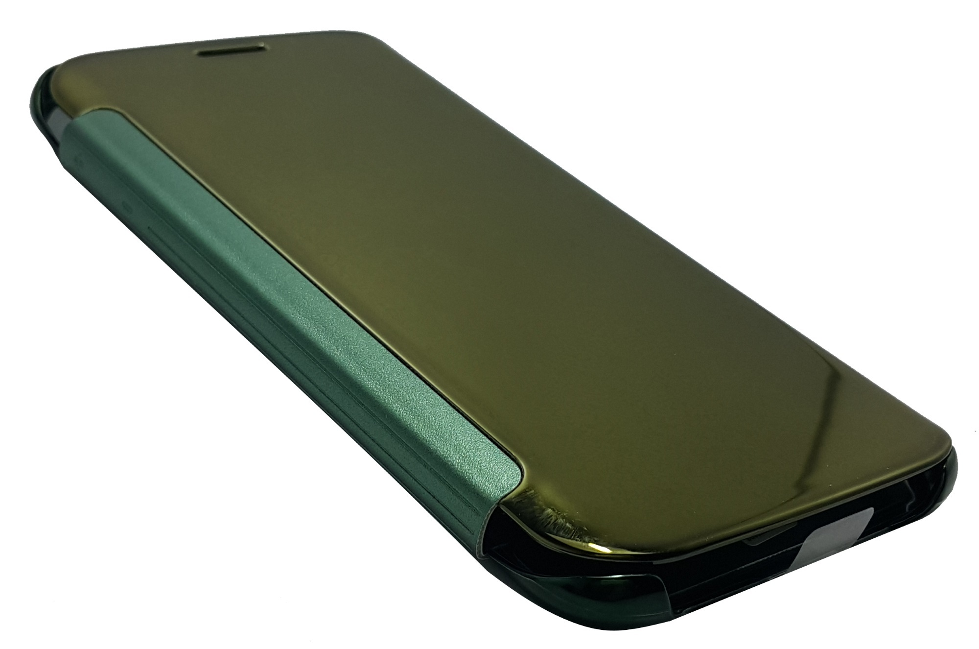 Clear Flip View Cover for Samsung Galaxy S6 (Dark Green) product preview, discount at cheapest price