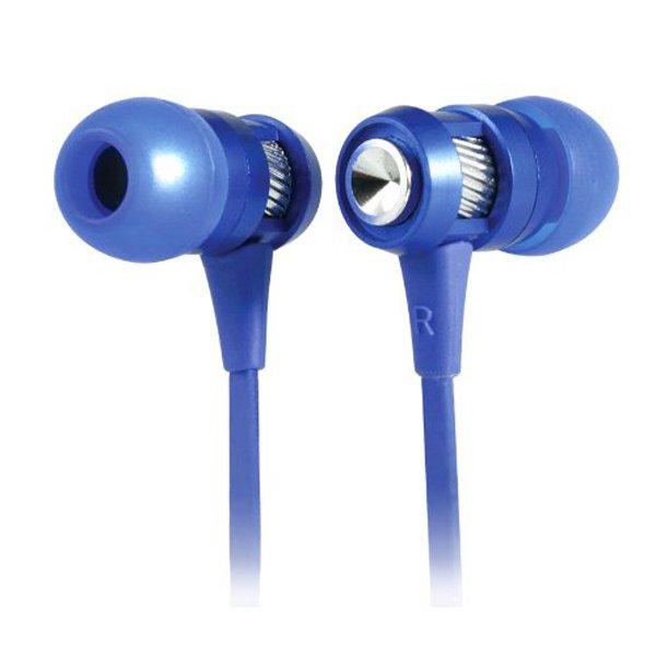 CLIPtec Hallo In-Ear Headphone (Blue) - thumbnail