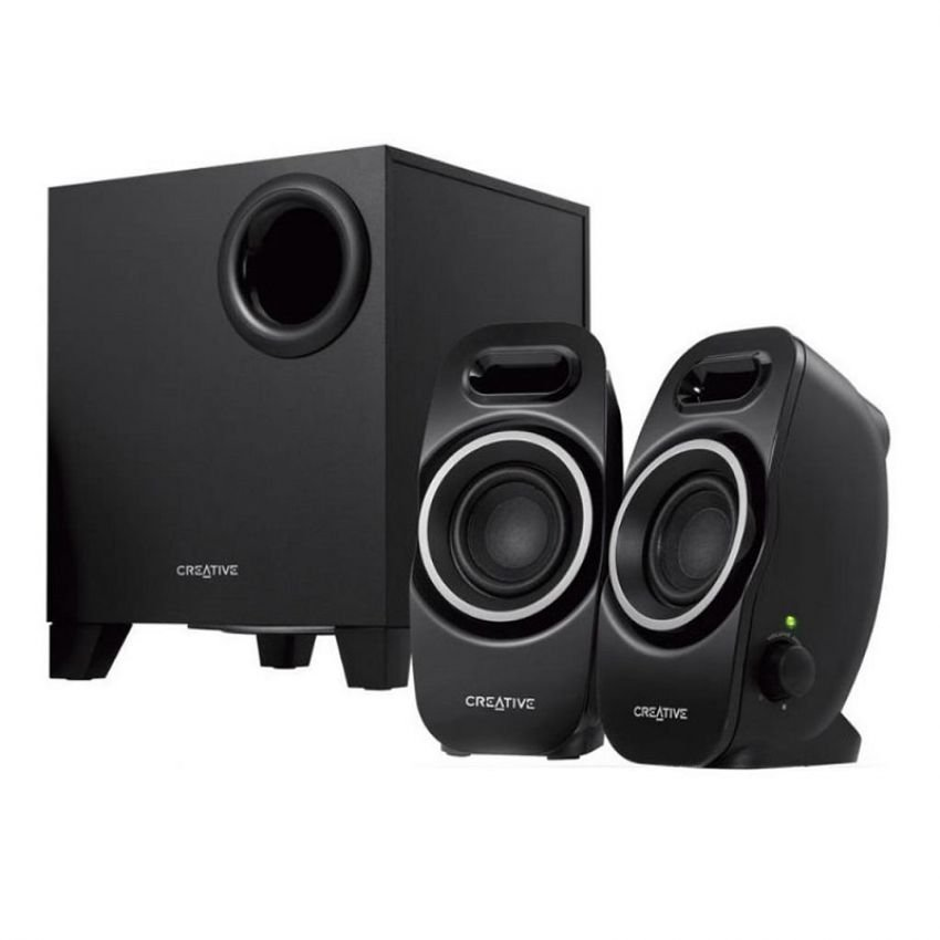 Creative SBS A350 2.1 Multimedia Speakers (Black) product preview, discount at cheapest price