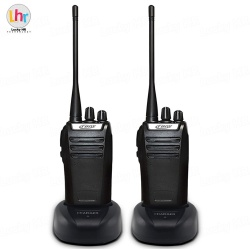 Set of 2 Crony CY-998 Two Way Radio Walkie Talkie (Black)