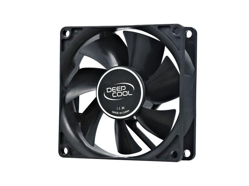 DeepCool XFan 80 Case Fan Black Hydro Molex 20db 1800rpm (Black)