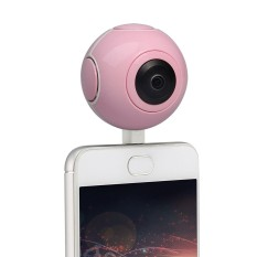 DHN 360 Panoramic Cameras 720 Degree HD mini VR Camera with 210 Degree Dual  Wide Angle Fisheye Lens Video Photo Dual Spherical Lens 360 Degree Action
