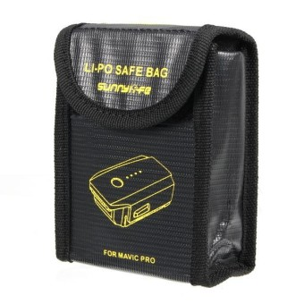 DJI Battery Storage Bag Explosion Proof Bag for DJI Mavic PRO RC Qaudcopter - intl