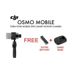 DJI OSMO Mobile with free osmo base and battery.