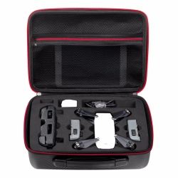 Waterproof Carrying Case &Carbon Fiber Surface Pattern For DJI Spark RC Drone
