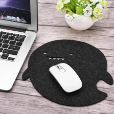Dolphin Shape Anti-static Felts Table Mouse Pad Office Dust-proof Desk Pads (