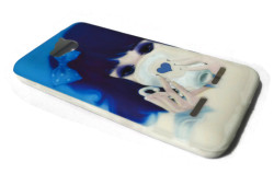 Drinking Girl Design Silicon Case for Huawei Ascend G600