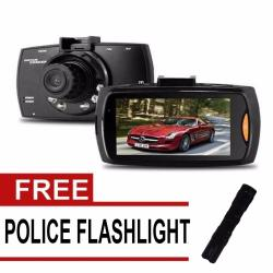 Wawawei G30 HD Avanced Portable Car Camcorder  with Free Police Flashlight