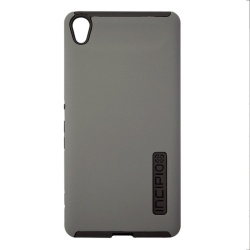 Dualpro soft and Hard Back Case for Asus zenfone live(Grey)