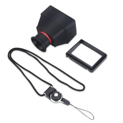Durable 3.2inch LCD Viewfinder 3X Magnifier Accessory for DSLR Mirrorless Cameras - intl