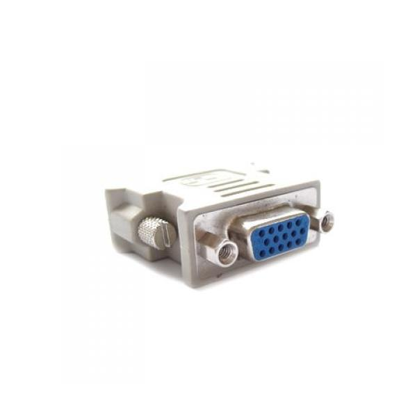 DVI-D(24+1Pin) to VGA Female Connecter Adapter - thumbnail