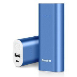 EasyAcc 2nd Gen. Metal 6400mAh Power Bank (Blue)