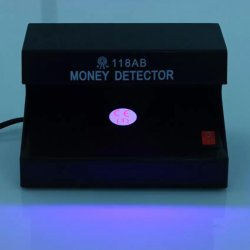 Sweethouse Electronic UV Light Money Detector Bill Currency Authenticity Checker (Black)