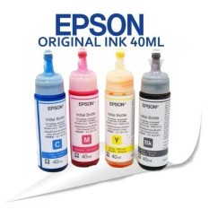 Epson Original Ink 40ml 1 Set By Sunsonic Electronic Plaza.