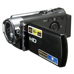 "EverSky 2.7""LCD Full HD 1080P Digital Video Camcorder 16xZoom DV Camera 270 Rotation - intl"