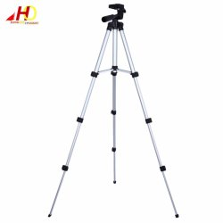Tripod 3110 Portable Extendable Stretch Digital Camera Camcorder Tripod Stand Lightweight Aluminum (Silver)