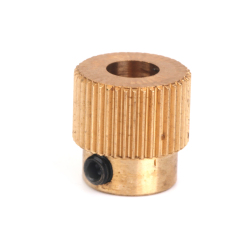 Extruder Drive Gear 40 Teeth Copper 5mm Shaft for 3D Printer 1.75mm Filament