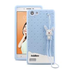 Fabitoo Cute ice cream silicone back cover case For OPPO .