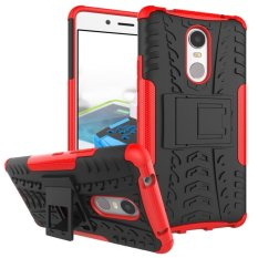 Fashion Heavy Duty Shockproof Dual Layer Hybrid Armor Protective Cover with Kickstand Case for Lenovo K6
