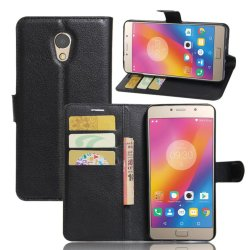 Flip Leather Wallet Cover Case For Lenovo Vibe P2 (Black) - intl