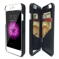 Flip Mirror Hard Cases Wallet Card Holder Stand Cover For Iphone 5 5s SE - intl