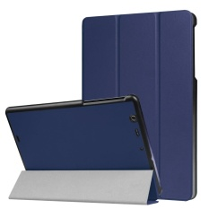 Folding Stand Leather Case Cover For Au Qua tab PZ 10.1inch Tablet NY - intl