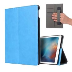 For Case for iPad Pro 9.7 - Slim Folding Stand Cover Case with PU Leather Back