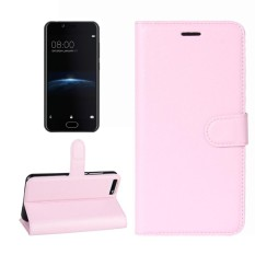For Doogee Shoot 2 Litchi Texture Horizontal Flip Leather Case with Holder and Card Slots and