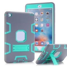 For iPad Mini 4 Dual Layer Hybrid Armor Protective Stand Cover Case - intl