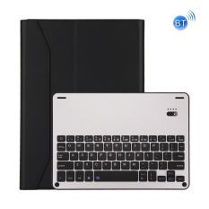 For iPad Pro 10.5 inch Detachable Aluminum Alloy Bluetooth Keyboard + Lambskin Texture Leather Case with