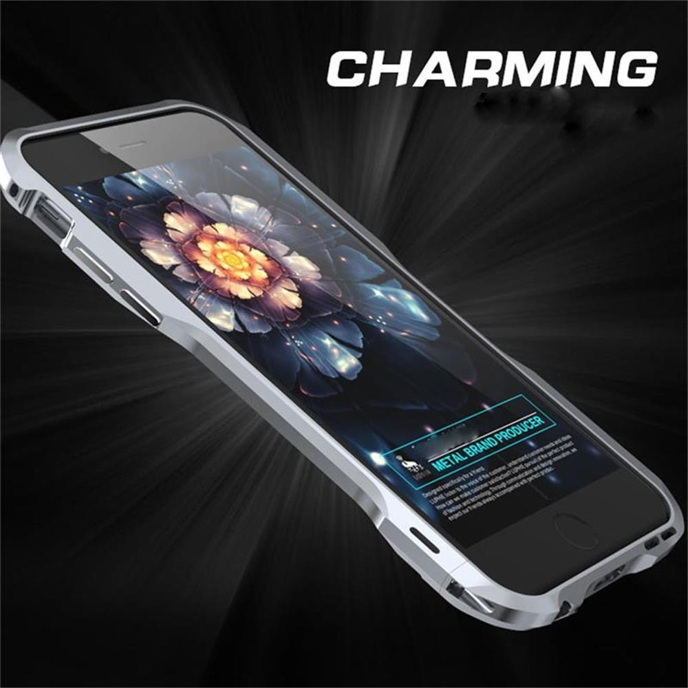 best cheap f22af af3b2 For iphone 6plus 6Splus Case Original Aluminum Metal Frame Case Hard Screw  Armor Phone Case Cover - intl