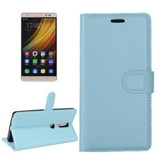 For Lenovo Phab 2 Plus Litchi Texture Horizontal Flip Leather Case With Magnetic Buckle and Holder