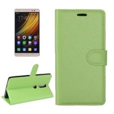 For Lenovo Phab 2 Plus Litchi Texture Horizontal Flip Leather Case .