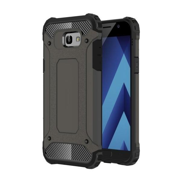 For Samsung Galaxy A7 (2017) / A720 Tough Armor TPU + PC Combination Case (Coffee) - intl