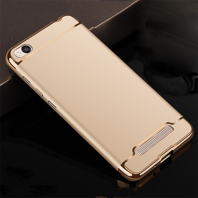 For Redmi 4A Hybrid 3 in1 Case Hard Plastic/PC matte Phone Case soft silicone