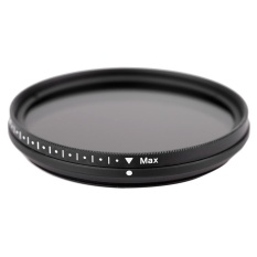Fotga 49mm Slim Fader Variable ND Filter Adjustable Neutral Density ND2 to ND400 - intl