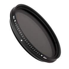 Fotga 52mm Slim Fader Variable Nd Filter Adjustable Neutral Density Nd2 To Nd400 By Tomtop.
