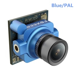 Foxeer Micro Arrow 150 Degree 600TVL 1/3 HAD II CCD FPV Camera with Upgraded OSD PAL Blue - intl