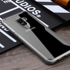 PHP 589. Full Protective Case for Samsung A8Plus 2018 TPU &PC Hard Clear Transparent Slim Back Cover for Samsung Galaxy A8 ...