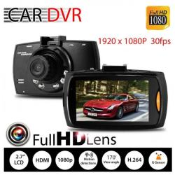"G30 Car Cameras + 2.7"" Car Driving Video Recorder Car DVR FHD 1080P Dash Cam Camcorder Night Vision"