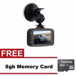 Gadget Box GS8000L Car DVR 1080P Camcorder with FREE 8GB Memory Card