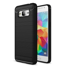 PHP 217. Galaxy Grand Prime Case Carbon Fiber Series Shock-Absorption Premium Hybrid ...