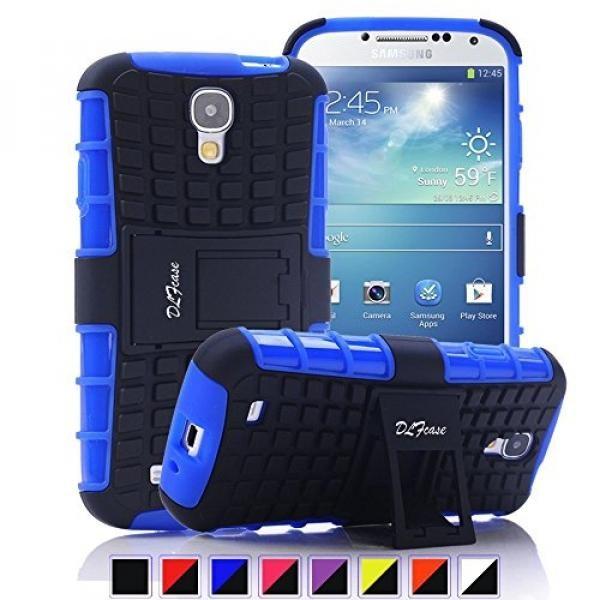 Galaxy S4 Case, [ Shockproof ] Samsung Galaxy S4 Case Heavy Duty Rugged Dual Layer