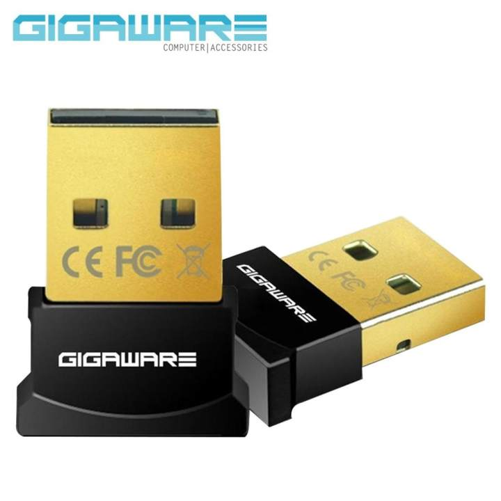 gigaware ultra mini bluetooth 4 0 usb dongle adapter black. Black Bedroom Furniture Sets. Home Design Ideas
