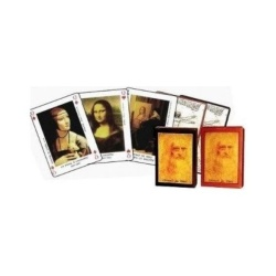 Grimaud - Leonardo da Vinci Luxury 55 Playing Cards Game - intl