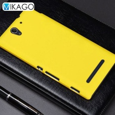 Grind arenaceous Hard Plastic Shell 5.5 Phone Cover Case for Sony Xperia C3 - intl